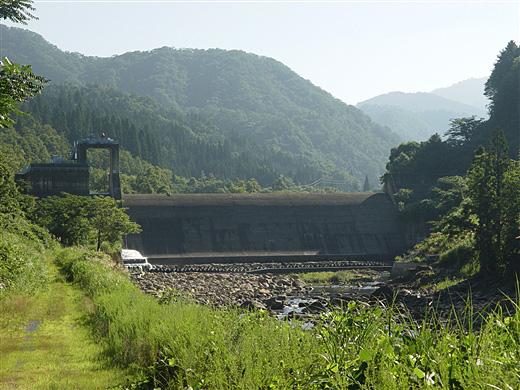 山原ダム[福井県] - ダム便覧