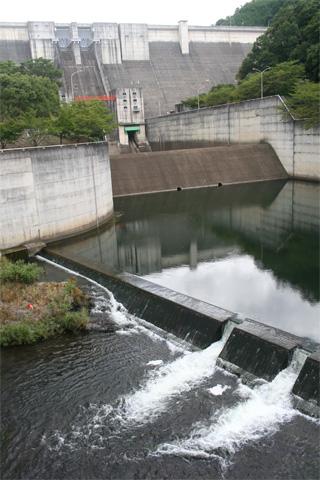 改修前の一庫ダム