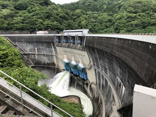 天ヶ瀬ダム1
